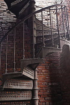 Spiral Staircase Depot by Frank Morales Jr