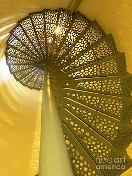 Christine Stack - Spiral Staircase Inside Portland Headlight Tower
