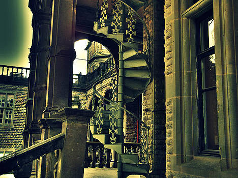 Spiral Staircase by Salman Ravish