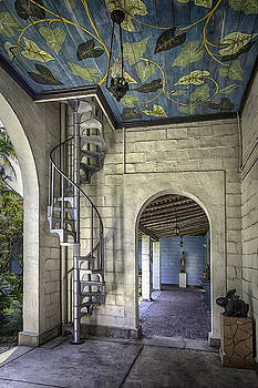 Lynn Palmer - Spiral Stairs and Gallery Mural