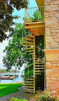Spiral Stairs by Judy Palkimas