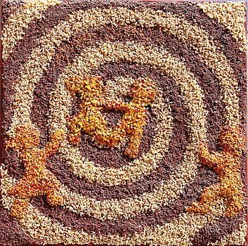 Spiraling Prairie Life by Naomi Gerrard