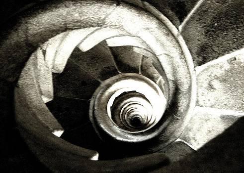 Julie Grandfield - Spiralling B/W