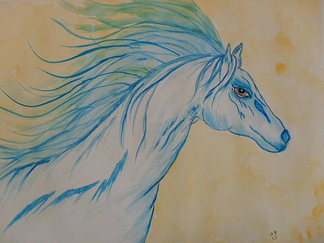 Spirit Of A Horse by Ginny Youngblood