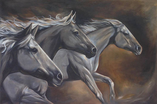 Spirit of Brothers by Wakan Art