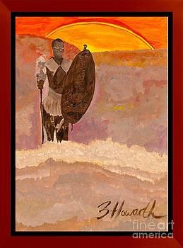Spirit World Art Zulu Dawn by Sylvia Howarth