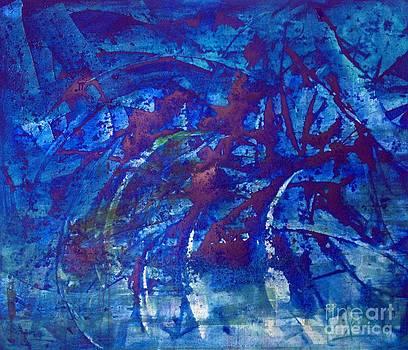 Spiritual abstrac 38 by Lalo Gutierrez