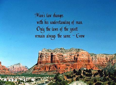 Gary Wonning - Spiritual Laws
