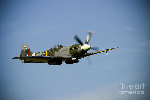 Spitfire Flypast by Alan Oliver