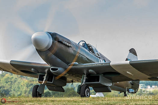 Spitfire MK14 Crop by Rob Heath
