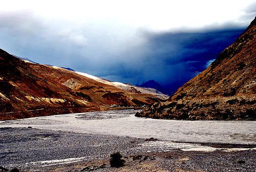 Spiti River- Kaza Ladkah- India- Viator's Agonism by Vijinder Singh