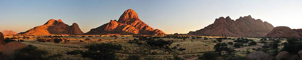 Spitzkoppe panorama by Grobler Du Preez