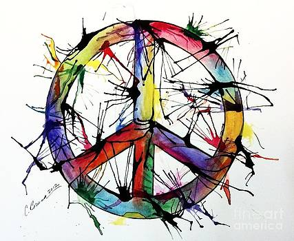 Splatter Peace by Christy Bruna