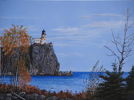 Split Rock Lighthouse by Vicky Path