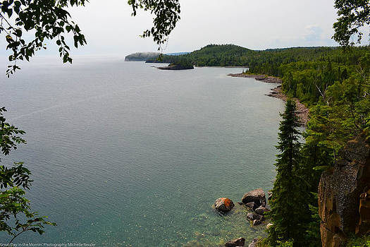 Split Rock View by Michelle Ressler
