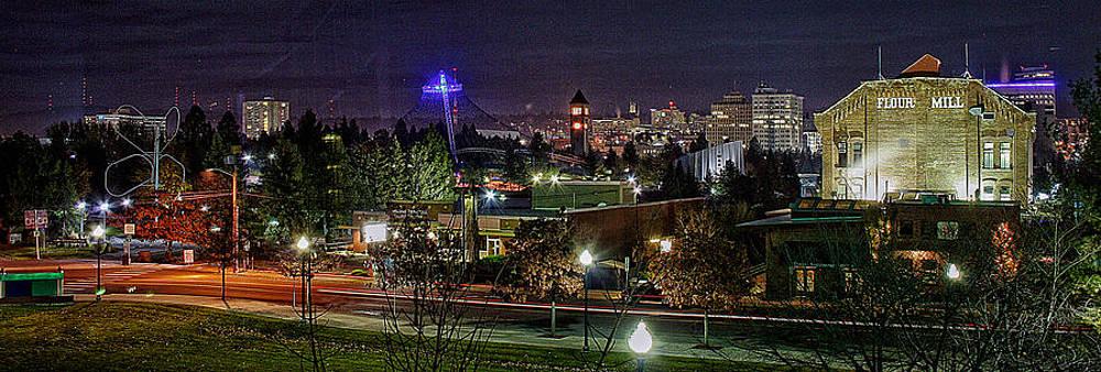 Spokane Downtown by Dan Quam