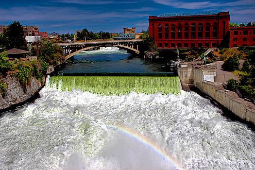 Spokane Falls by Rusty Jeffries