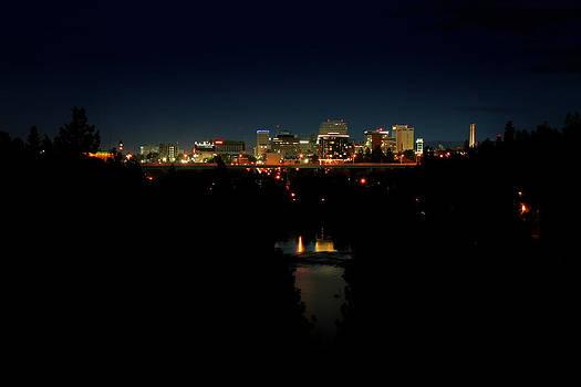 Spokane from Highbridge Park by Dan Quam