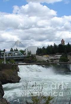 Spokane Washington Riverfront Park Spokane Falls by Windy Mountain