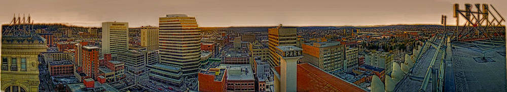 Spokane's West view from US Bank by Dan Quam