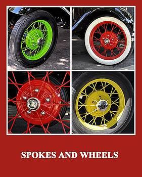 Spokes and Wheels by AJ  Schibig
