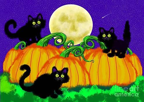 Nick Gustafson - Spooky Night in Pumpkin Patch
