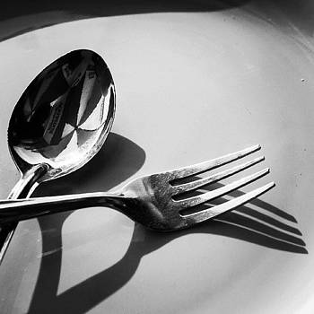 Spoon And Fork by Hitendra SINKAR