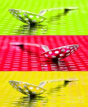 Spoon Reflection Trio by Pattie Calfy