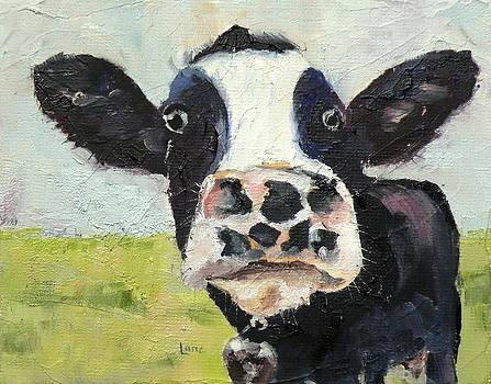 Spot the Cow by Saundra Lane Galloway
