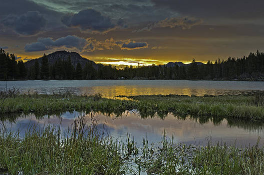 Sprague Lake Sunrise by Tom Wilbert