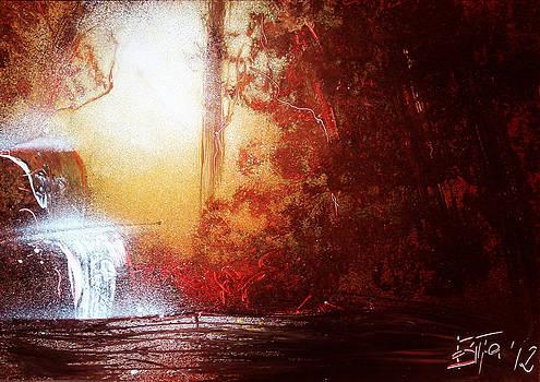 Spray Landscape#1 by Bitta -  Silvia Mariottini