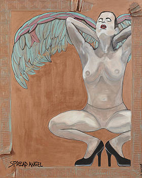 Spread Angel by Darlene Graeser