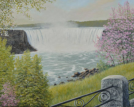 Spring At The Falls by Jake Vandenbrink