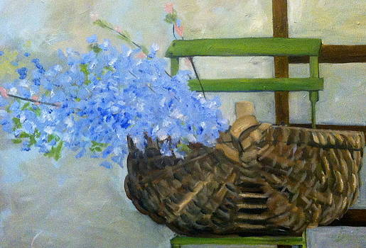 Spring Basket by Carrington Brown