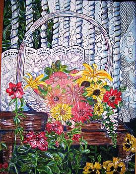 Spring Basket by Linda Vaughon