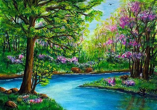 Spring Bloom by Catherine Jeffrey