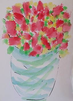 Spring Bouquet by Cindy Lawson-Kester