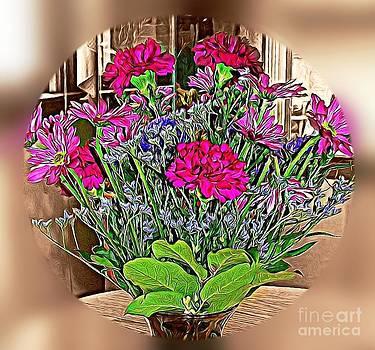 Spring Bouquet by Judy Palkimas