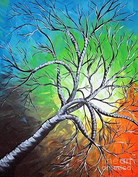 Spring Day Tree by Susan Wahlfeldt