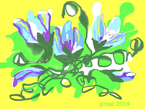 Spring Digital Art by Regina McLeroy