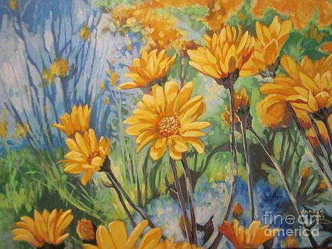 Spring Flowers by Andrei Attila Mezei