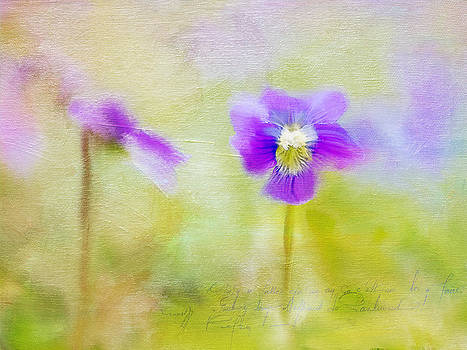 Spring Flowers by Donna Tomlin