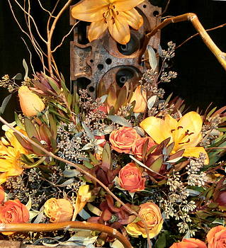 Kate Gallagher - Spring Flowers in Autumn Colors