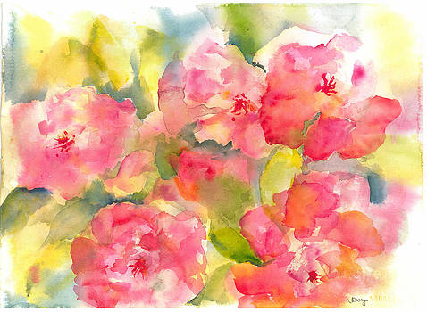 Spring Flowers by Joyce Casey
