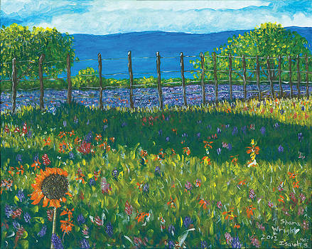 Spring Flowers by Shara  Wright