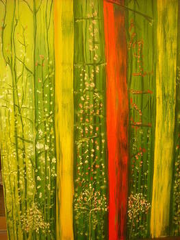 Spring Forest by Mireille  Damicone