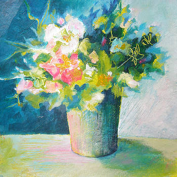 Spring Green Posy by Susanne Clark