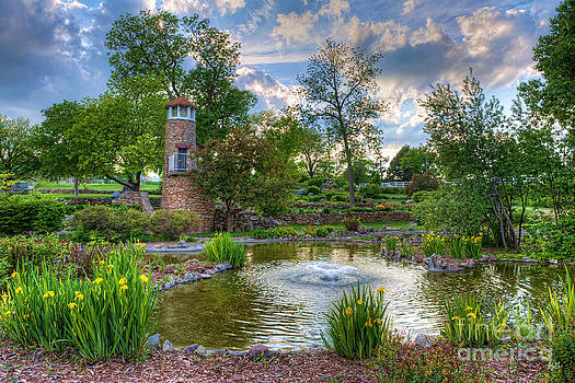 Spring in Harmon Park by Kerri Garrison