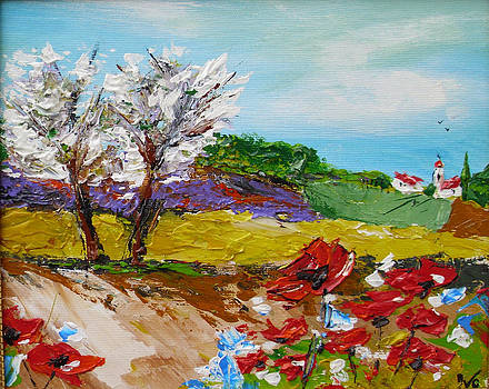 Spring in provence by Ivaylo Georgiev