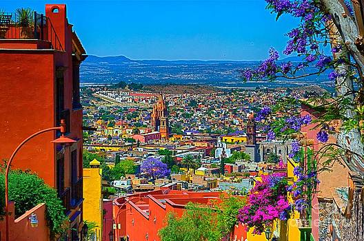 Spring in San Miguel de Allende by Nicola Fiscarelli